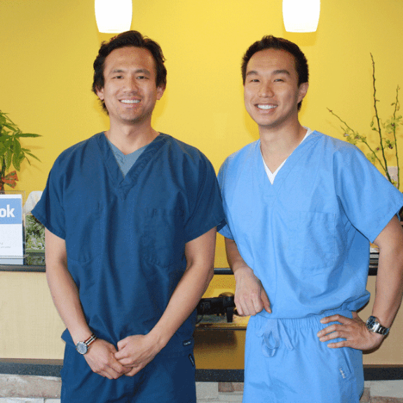 Two dentists at Royse City dental office